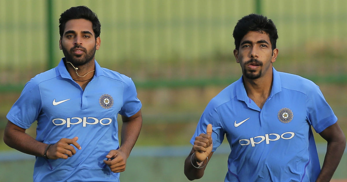 Bhuvneshwar Kumar and Jasprit Bumrah have emerged as India's ideal new-ball pair in ODIs   AP