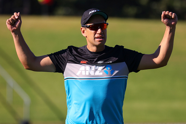 Ross Taylor injured during a net session   Getty Images