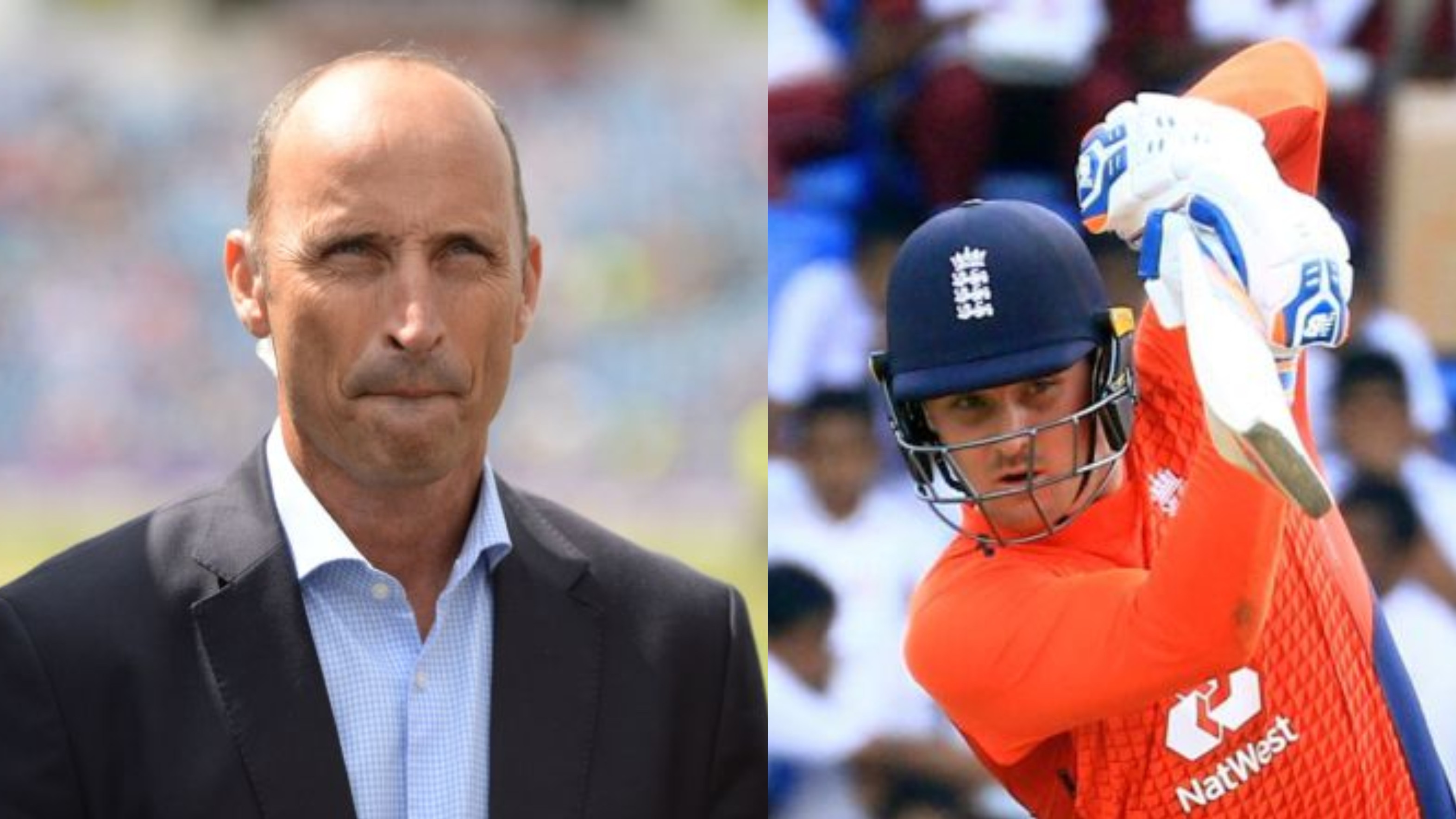 Nasser Hussain backs Jason Roy for opener role in England's Test team