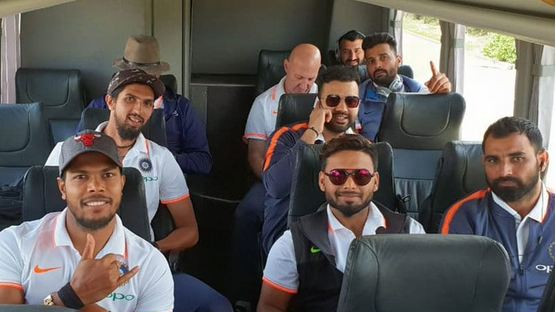 AUS v IND 2018-19: PICS – Team India touch down in Adelaide for the series opener