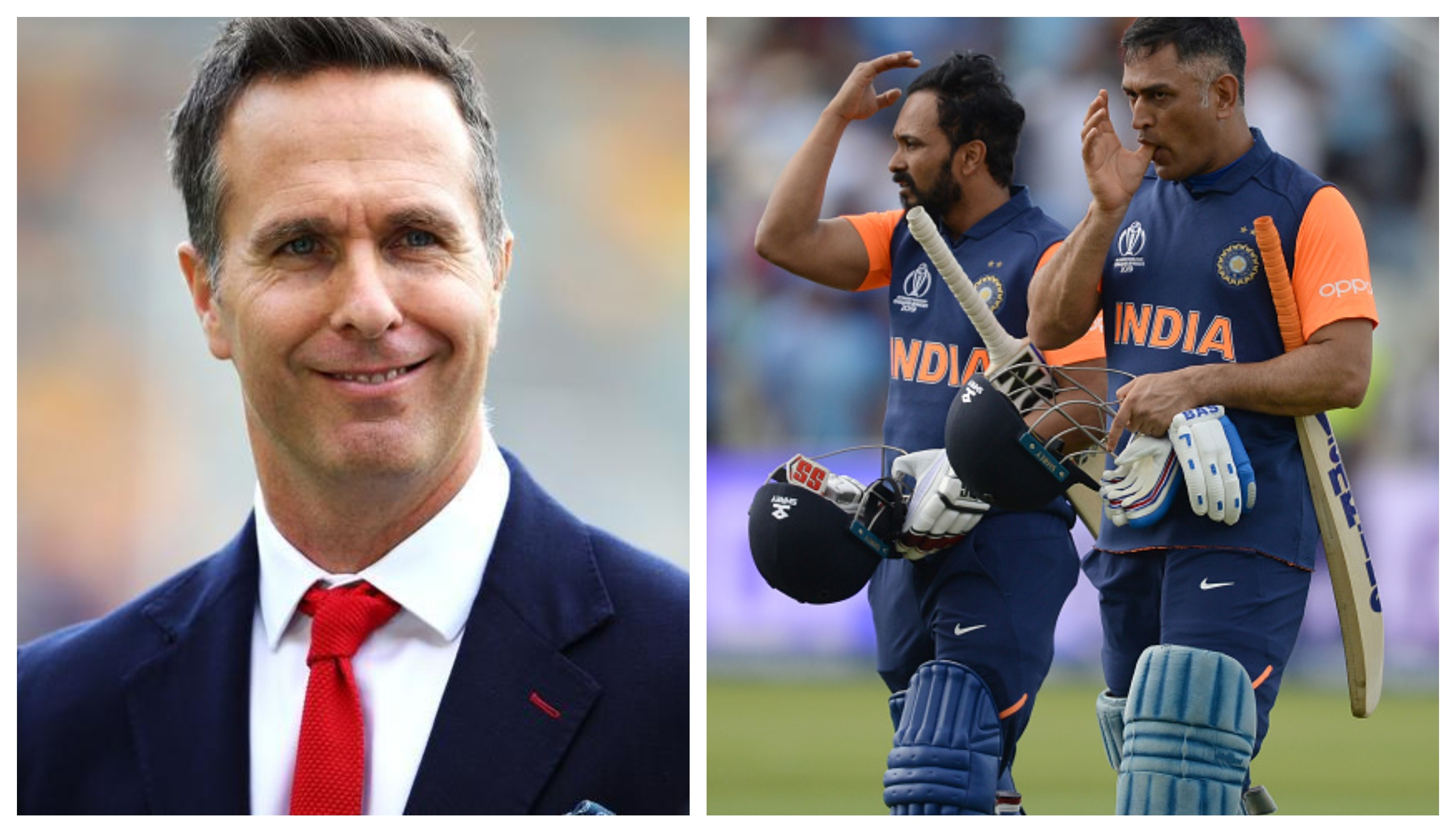 CWC 2019: Michael Vaughan takes a jibe at Team India's intent-less chase against England