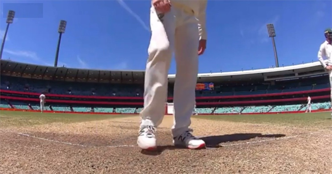 Smith was caught on stump cam rubbing his spikes at batting crease, scuffing up Pant's batting guard