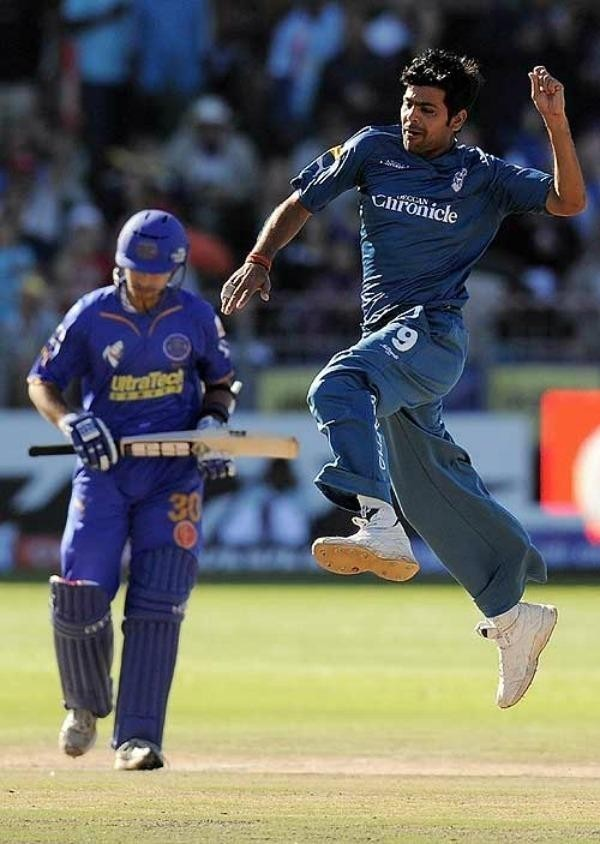 RP Singh was the purple cap winner in Deccan Chargers IPL 2009 victory