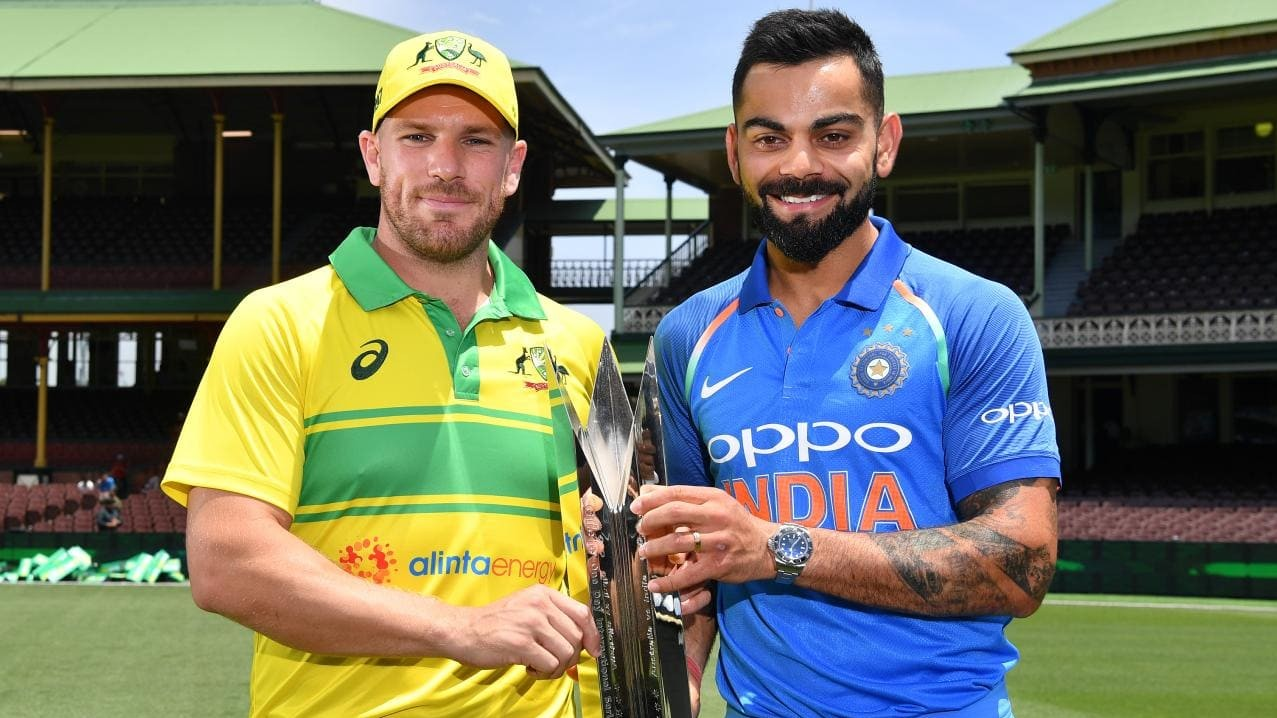 Aaron Finch finds it hard to compare India-Australia ODI rivalry, says its no less than Tests