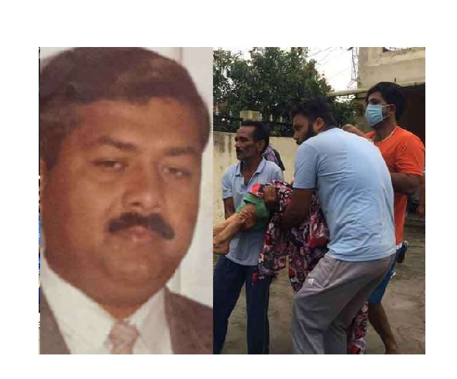 Suresh Raina's uncle Ashok Kumar (R) lost his life during the robbery