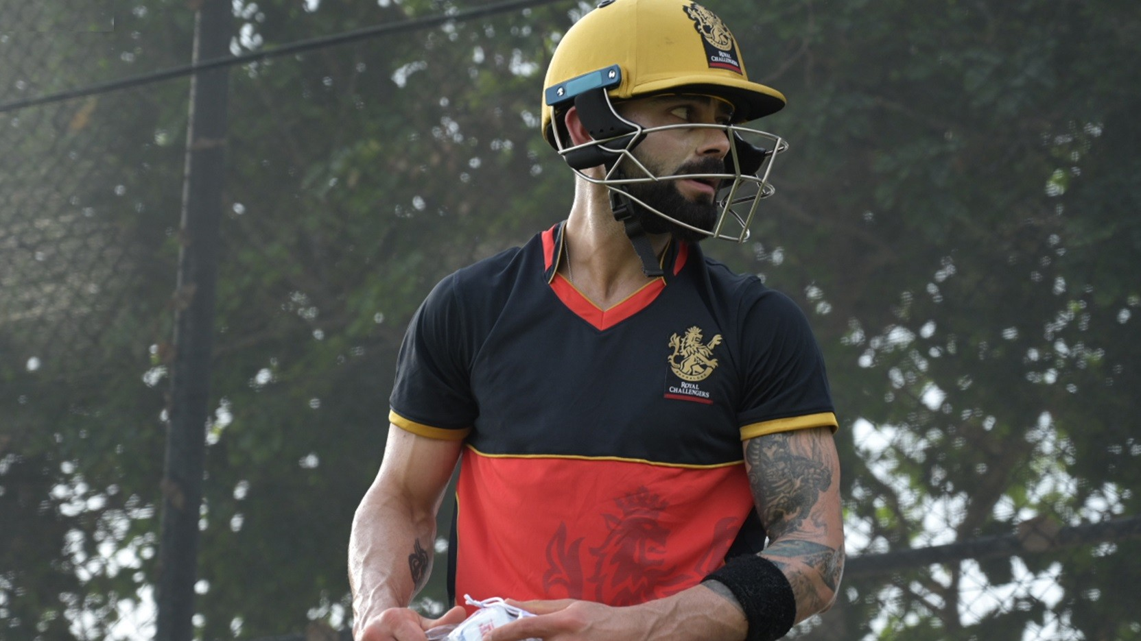 IPL 2020: WATCH - RCB skipper Virat Kohli starts net practice after quarantine