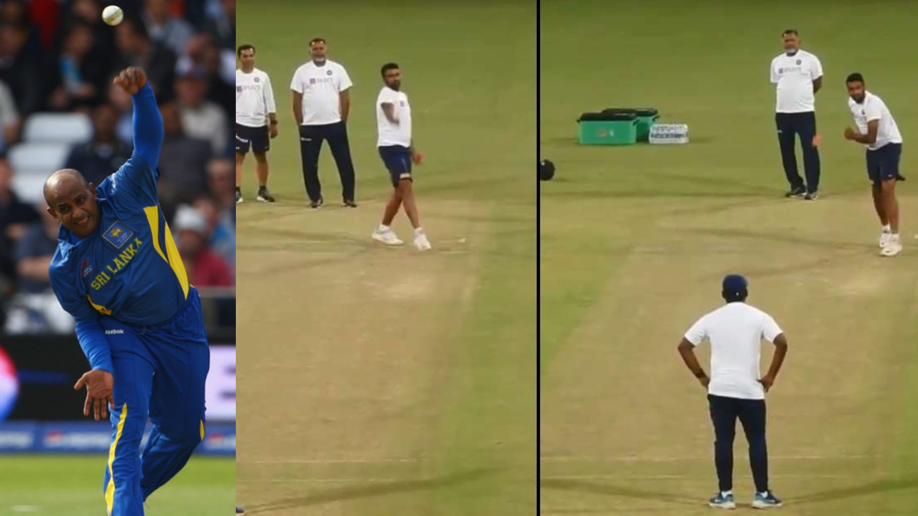 IND v BAN 2019: WATCH- R Ashwin practices left-arm spin; copies Sanath Jayasuriya's action perfectly