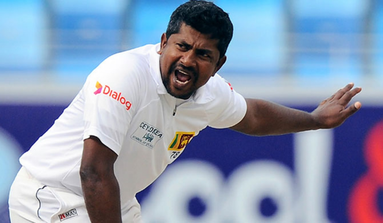 Rangana Herath completes 100 Test wicket at Galle | Getty Images