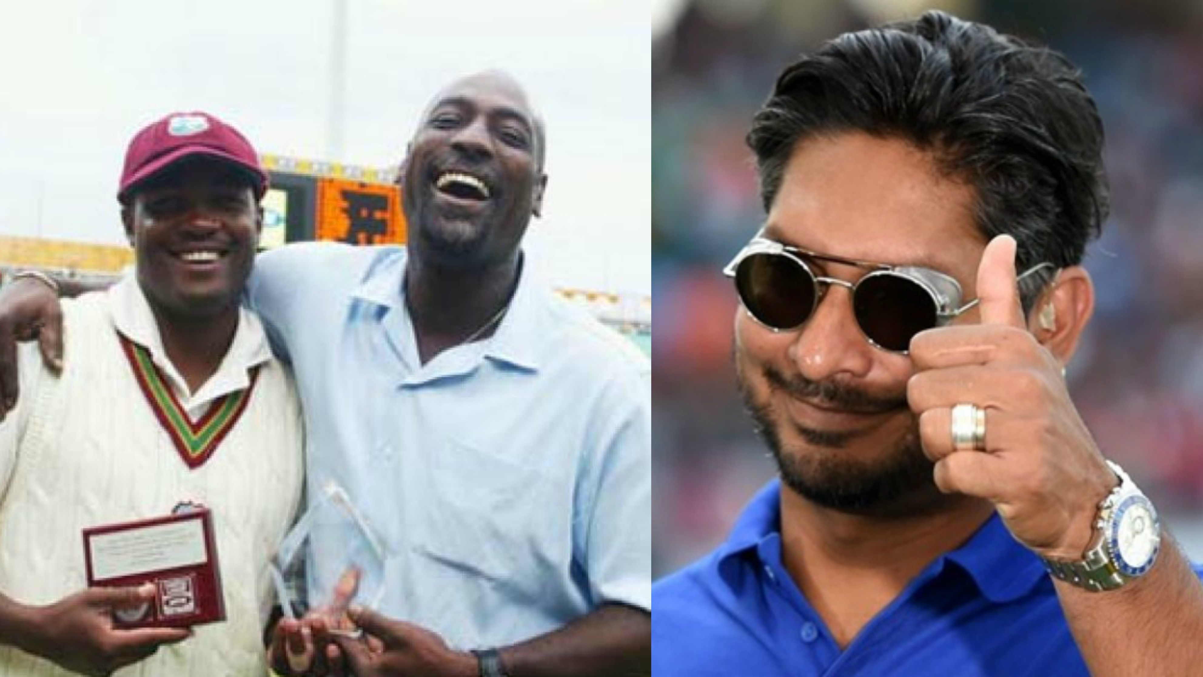 Kumar Sangakkara names Sir Viv Richards and Brian Lara as his all-time favorite heroes