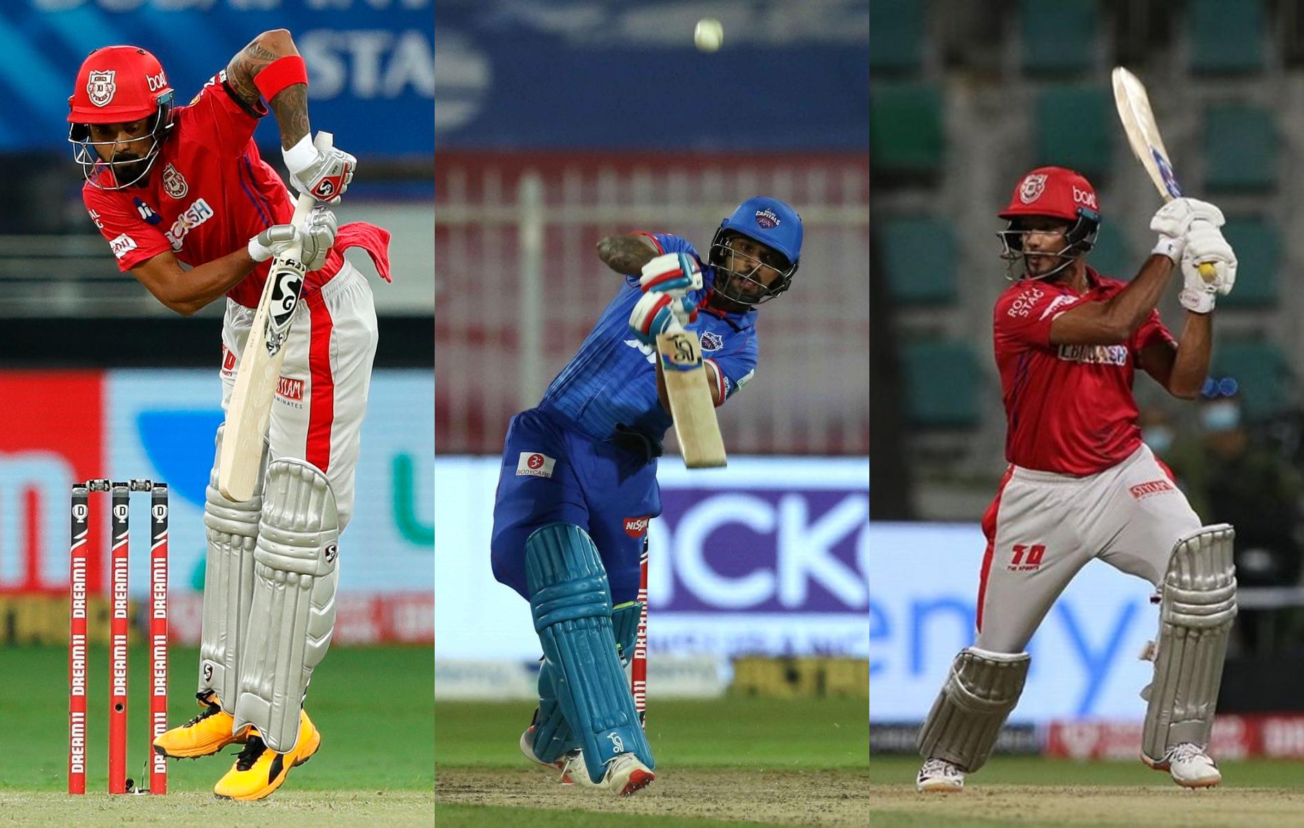 KL Rahul. Shikhar Dhawan and Mayank Agarwal | BCCI/IPL