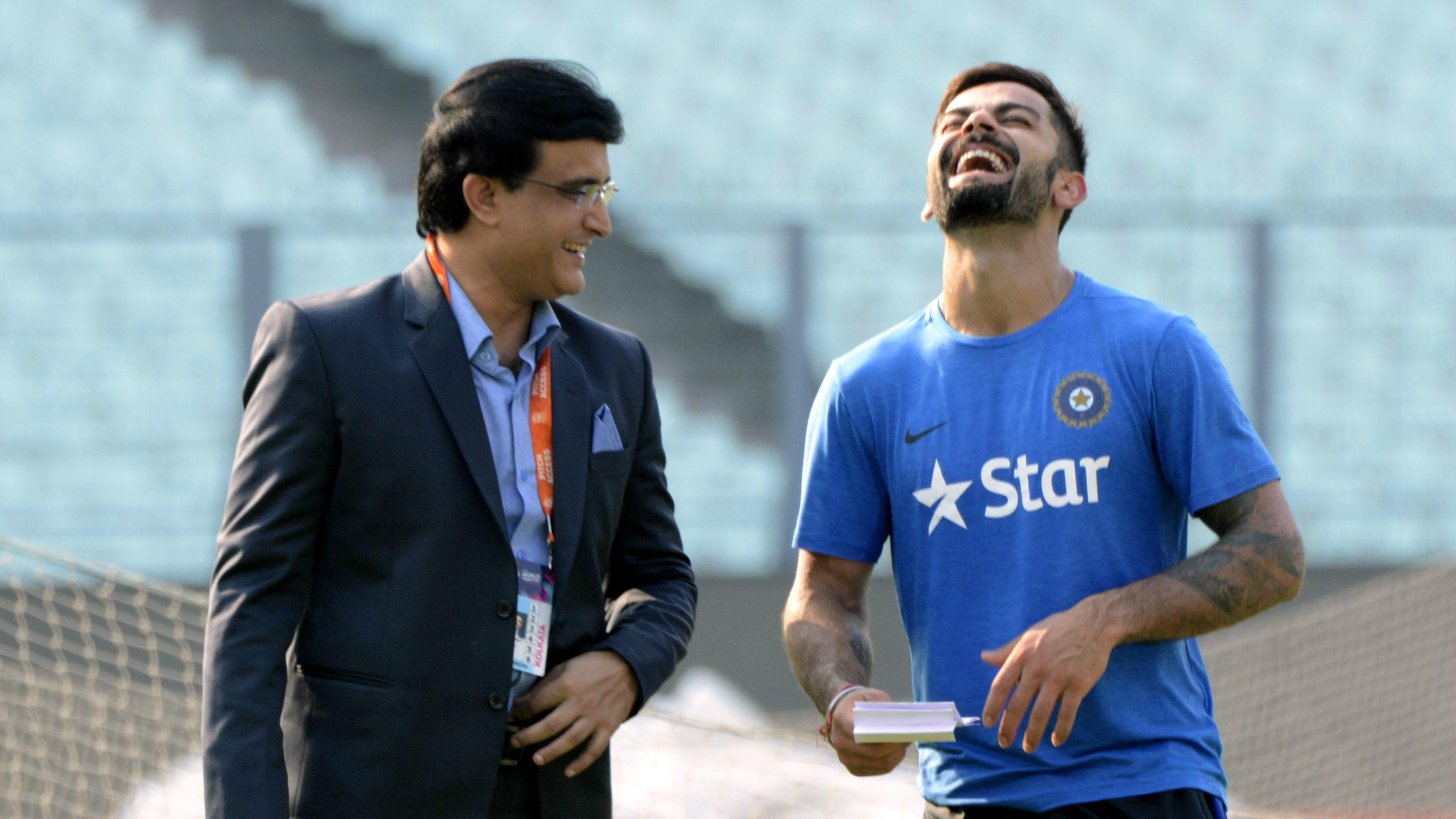 Sourav Ganguly and Virat Kohli - two captains who sculpted Indian cricket team as we know