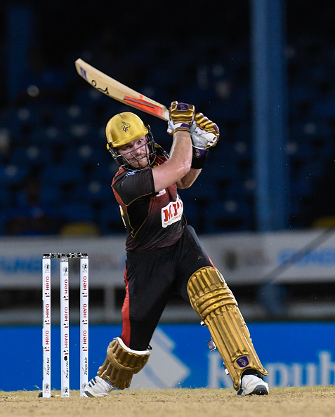 Tim Siefert for TKR during CPL 2020 | Getty