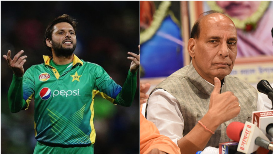 WATCH: India's Home Minister Rajnath Singh reacts to Shahid Afridi's comments on Kashmir
