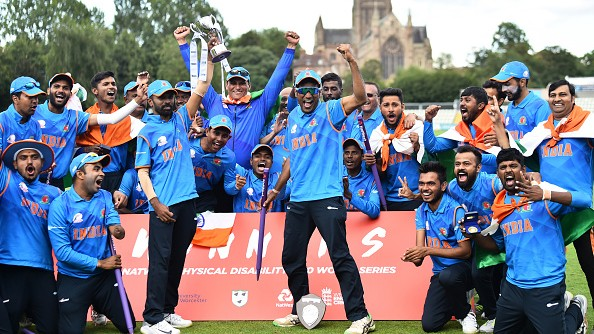 Team India win the inaugural Physical Disability World Series T20
