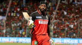 Chris Gayle was bought by KXIP when his name came up for third and final time