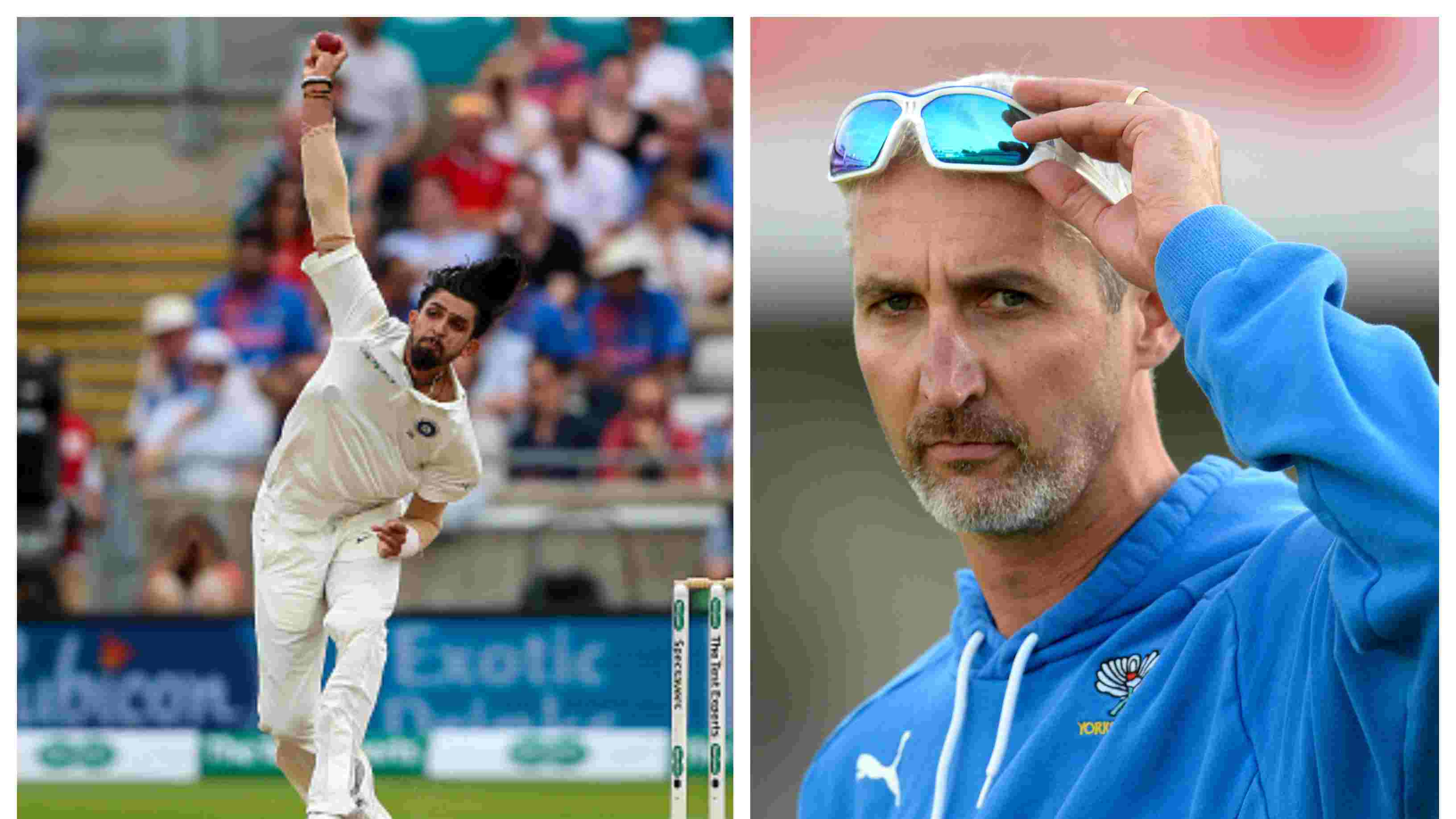 ENG v IND 2018: Jason Gillespie's advice a major factor behind Ishant Sharma's improved performance