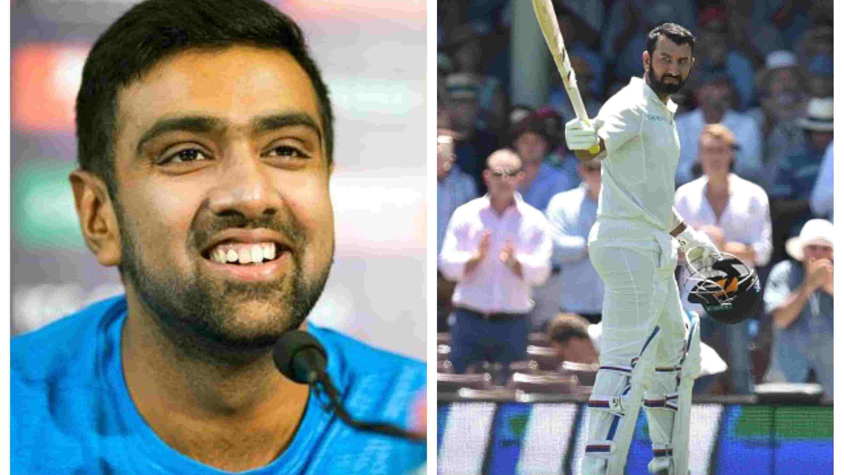 AUS v IND 2018-19: Ashwin lauds Pujara's patience by posting a hilarious meme