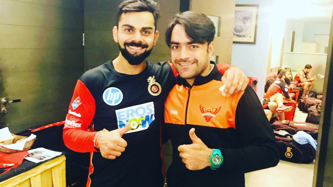 Rashid Khan accepts Virat Kohli's