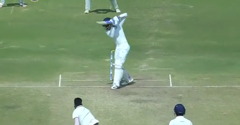 Shubman Gill was in full flow against Hyderabad | Screengrab