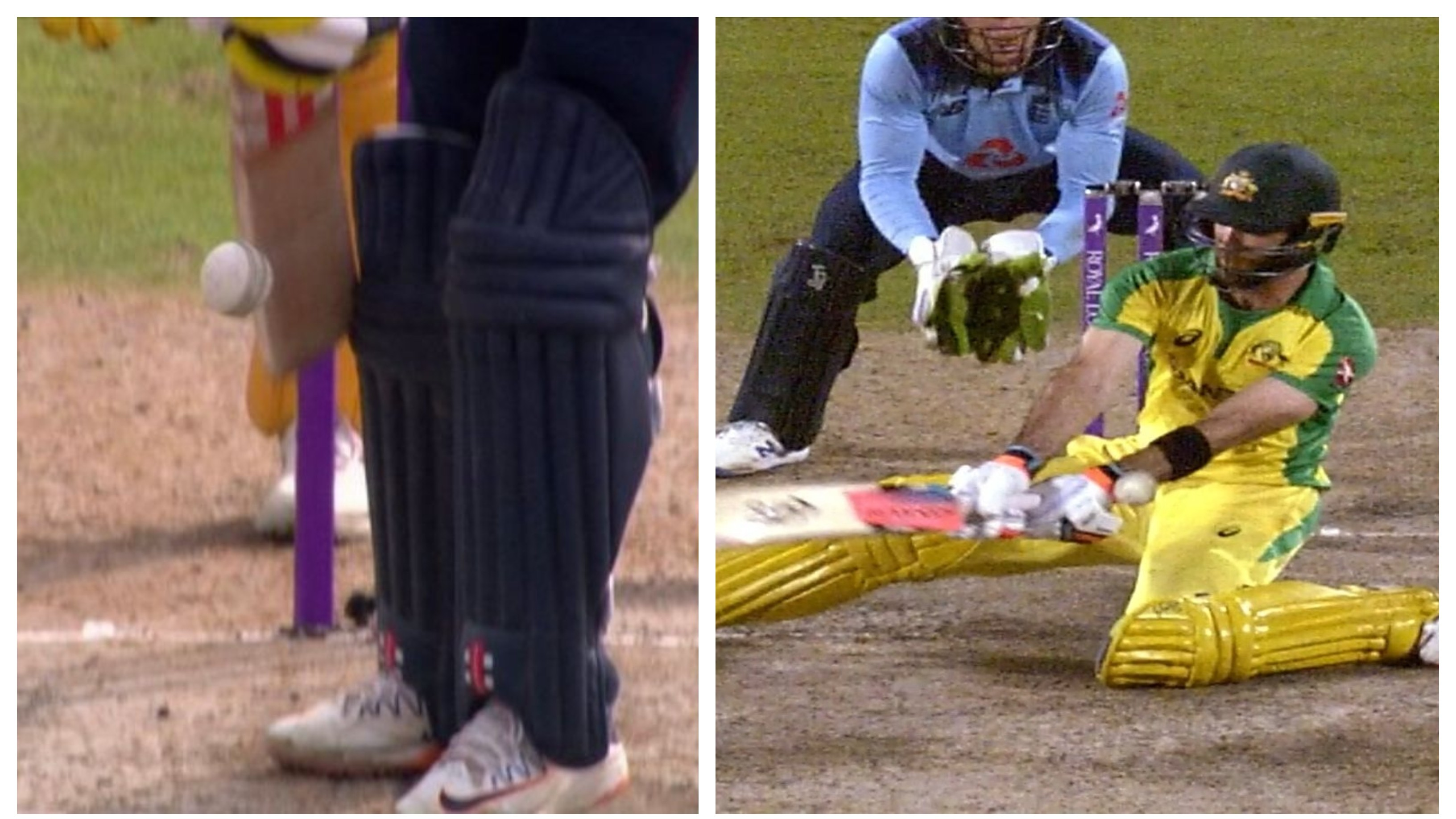 ENG v AUS 2020: WATCH – Two strange DRS related incidents involving Finch and Maxwell from 3rd ODI