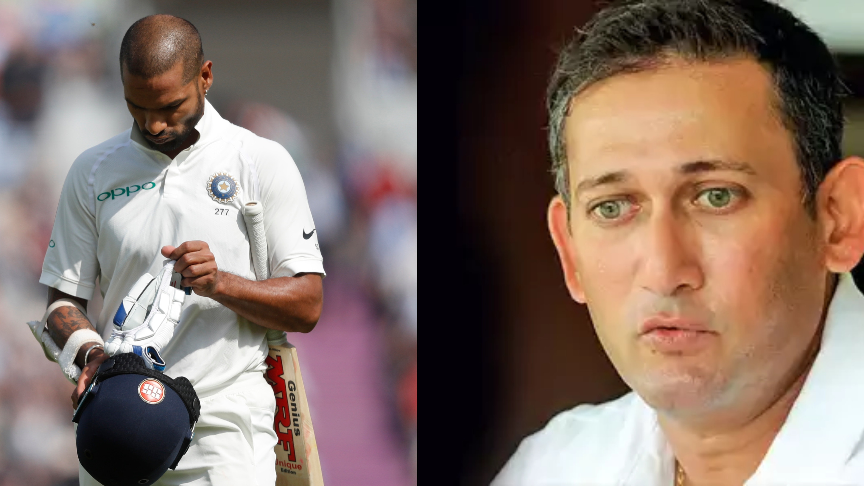 ENG vs IND 2018: Ajit Agarkar not convinced with Shikhar Dhawan's technique in Tests after England debacle