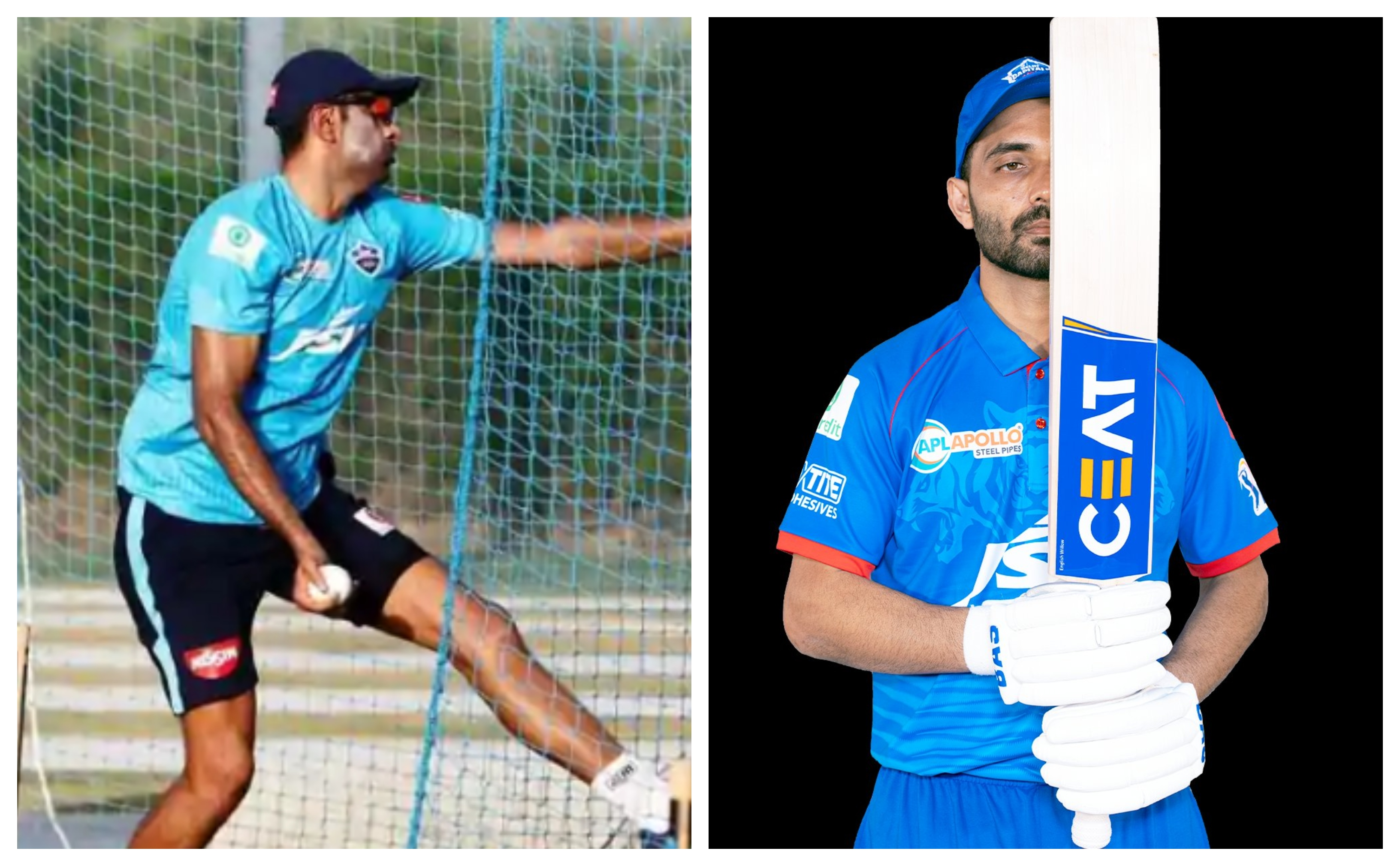 Ashwin and Rahane will turn out for Delhi Capitals in this year's IPL   DC/Twitter