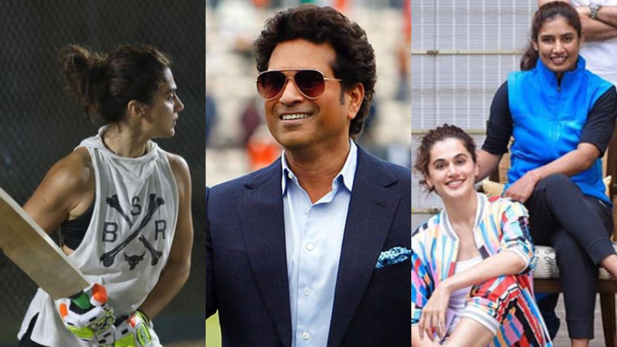Taapsee Pannu shares her batting photo, uses Sachin Tendulkar's famous quote