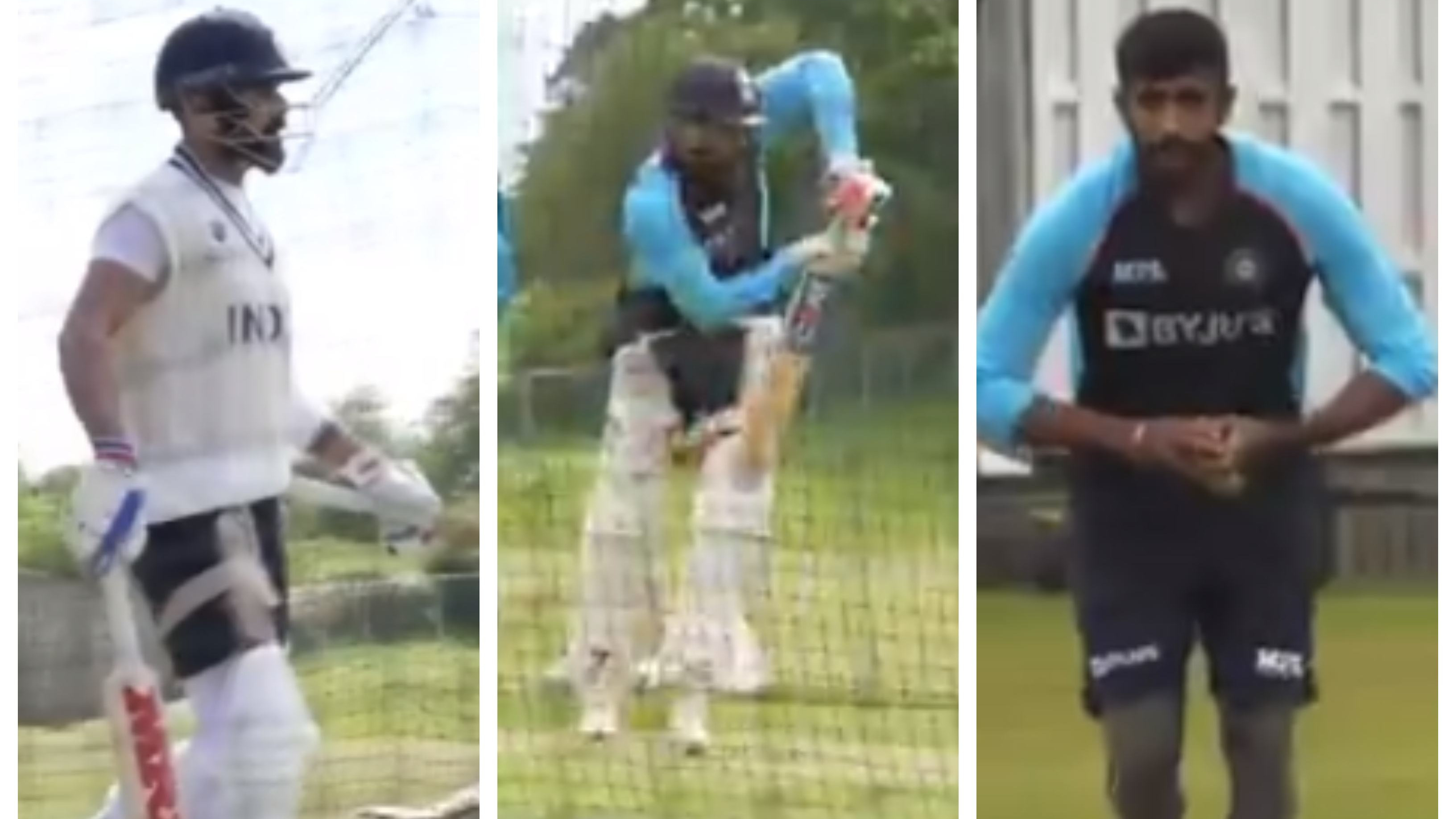 WTC 2021 Final: WATCH – Team India sweat it out in the nets after completing quarantine in Southampton