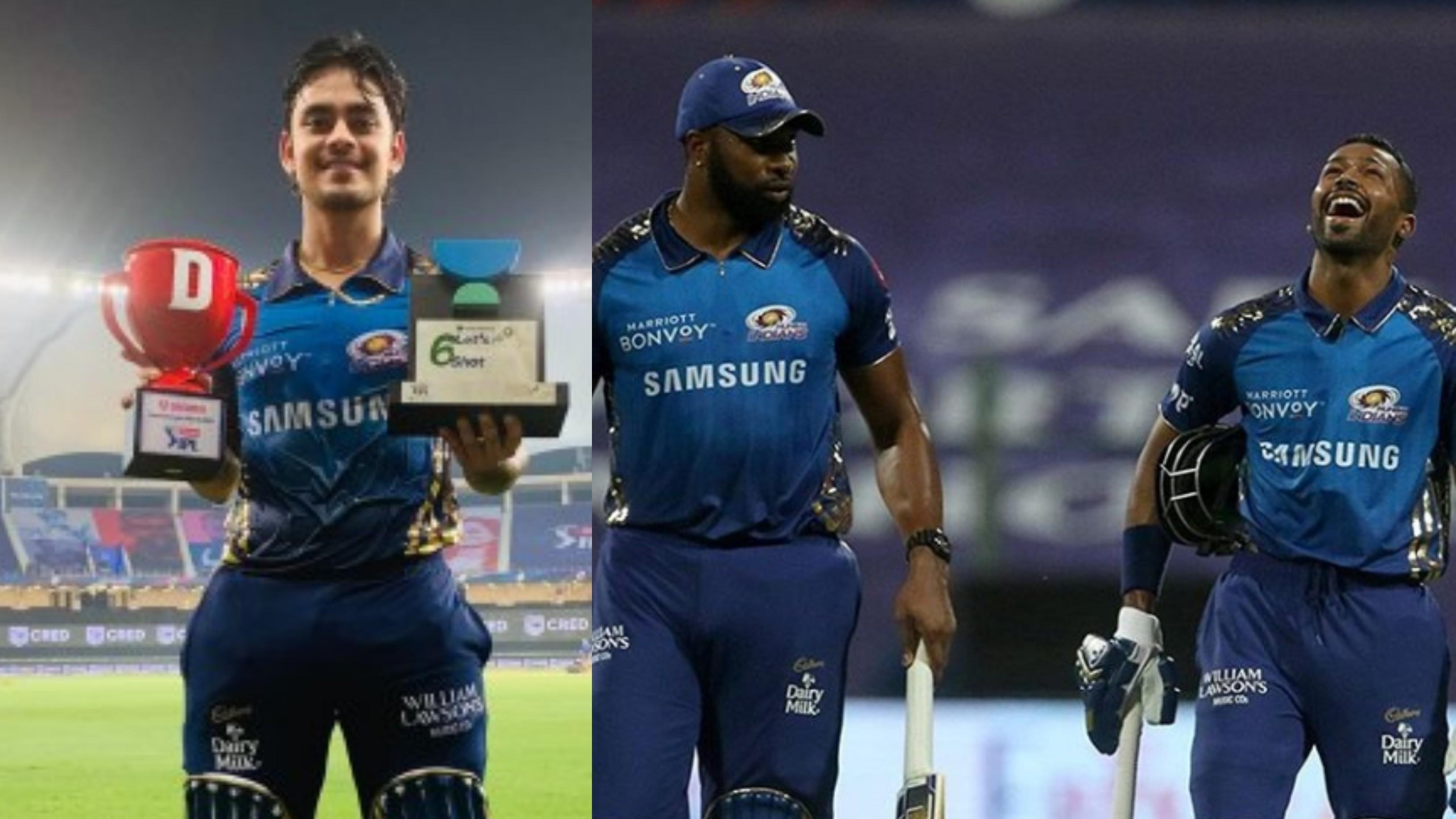 IPL 2020: Learning tricks of trade from Kieron Pollard and Hardik Pandya, says MI's Ishan Kishan