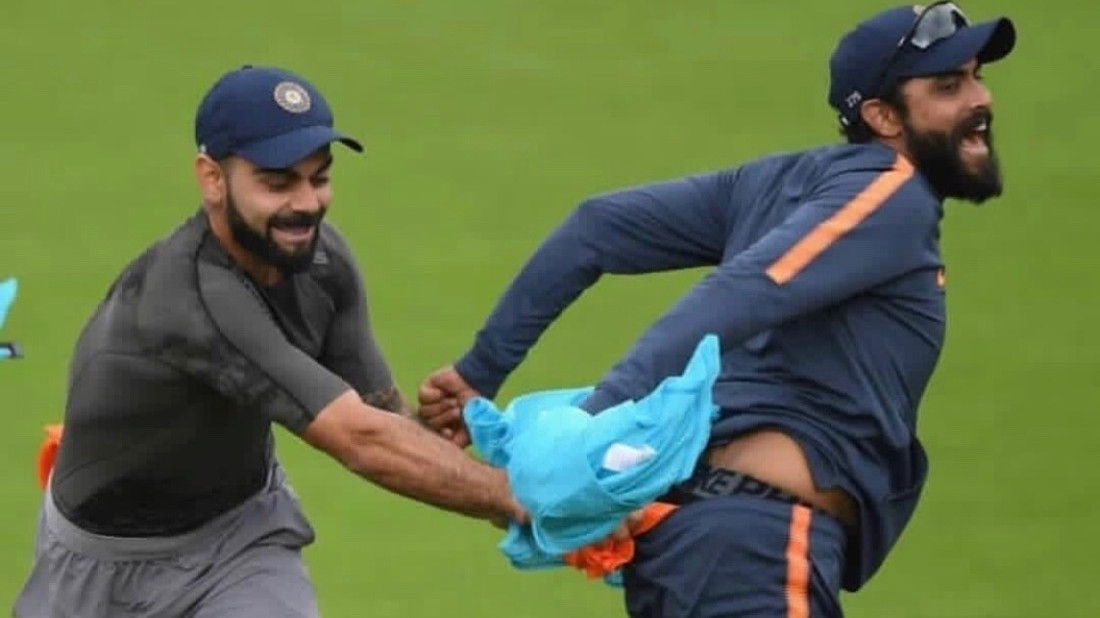 ENG v IND 2018: WATCH – Team India having fun during practice session