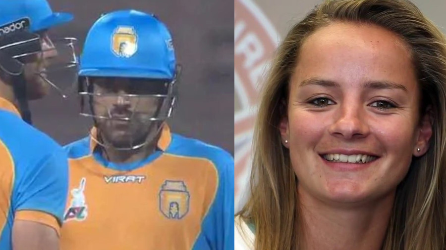 Rashid Khan roasted by Danielle Wyatt on Instagram