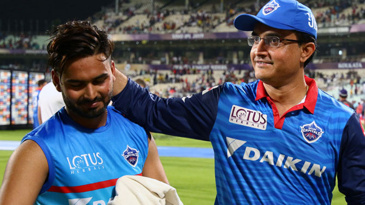Sourav Ganguly is mightily impressed by Rishabh Pant | BCCI/IPL