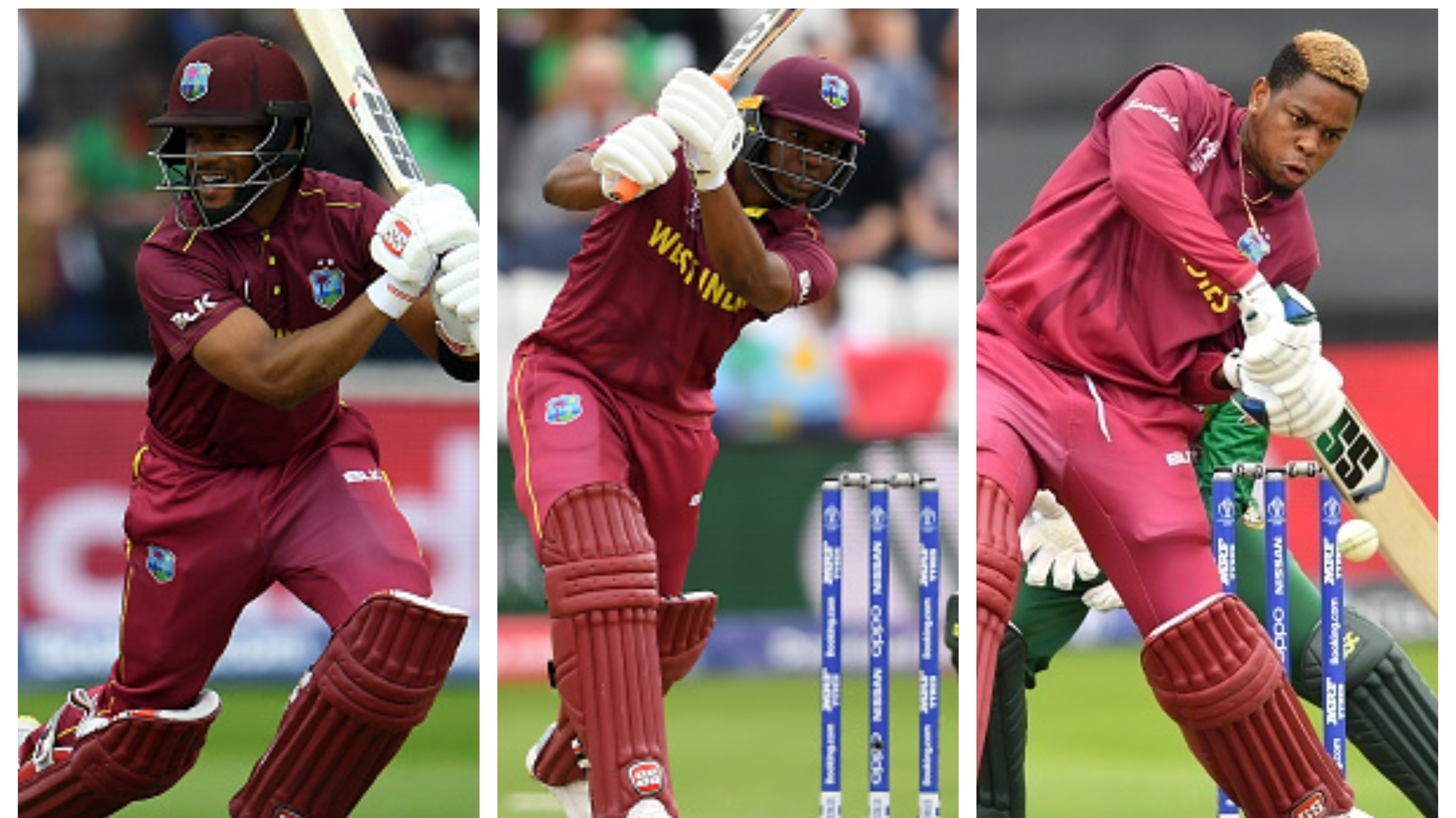 CWC 2019: WI v BAN – Half centuries from Hope, Lewis and Hetmyer help West Indies to post 321