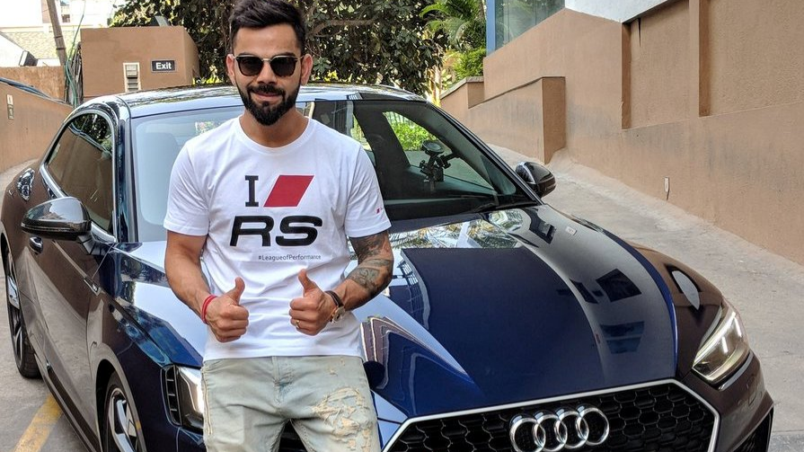 Virat Kohli launches a new Audi worth 1.1 crore