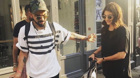 Virat Kohli and Anushka Sharma go shopping in Leeds