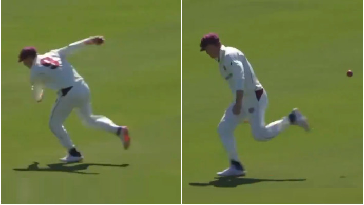 WATCH - Marnus Labuschagne takes a strange catch; Twitterati divided over the decision