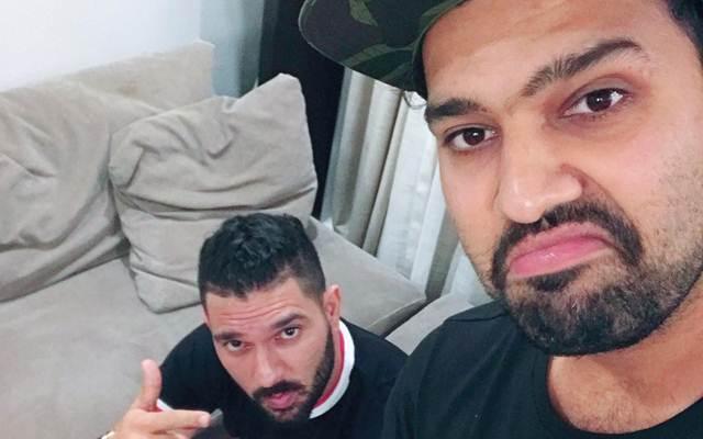 Yuvraj Singh and Rohit Sharma | Instagram