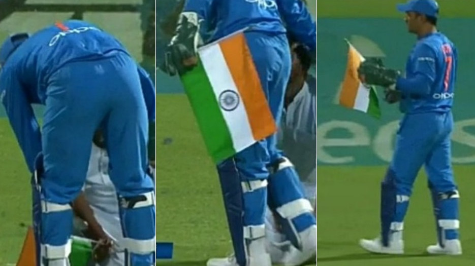 Ex-vice president of MS Dhoni's school very happy with his gesture towards Indian flag