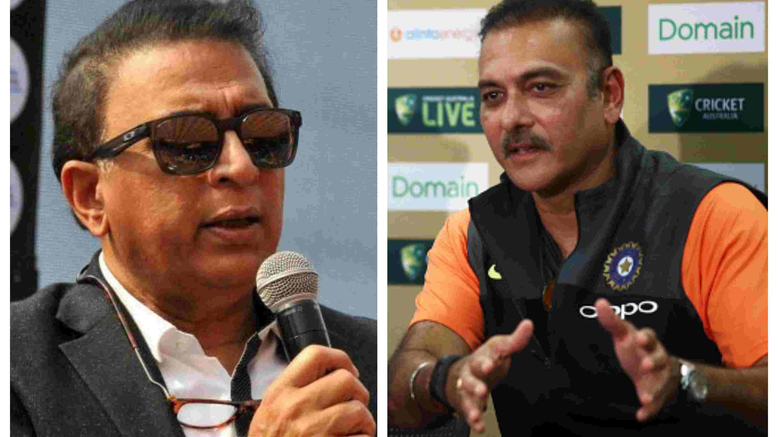 AUS v IND 2018-19: Ravi Shastri takes a jibe at Gavaskar, says current Indian team doesn't fire blanks