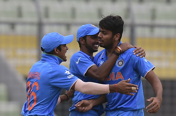 Avesh first impressed with his pace and velocity during the U-19 World Cup in 2016 | Getty