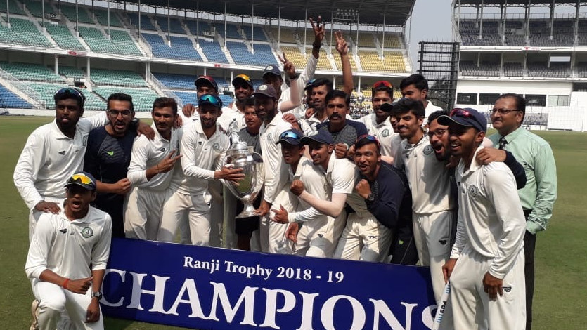 Vidarbha wins second straight Ranji Title, defeats Saurashtra by 78 runs thanks to Sarwate's 11 wickets