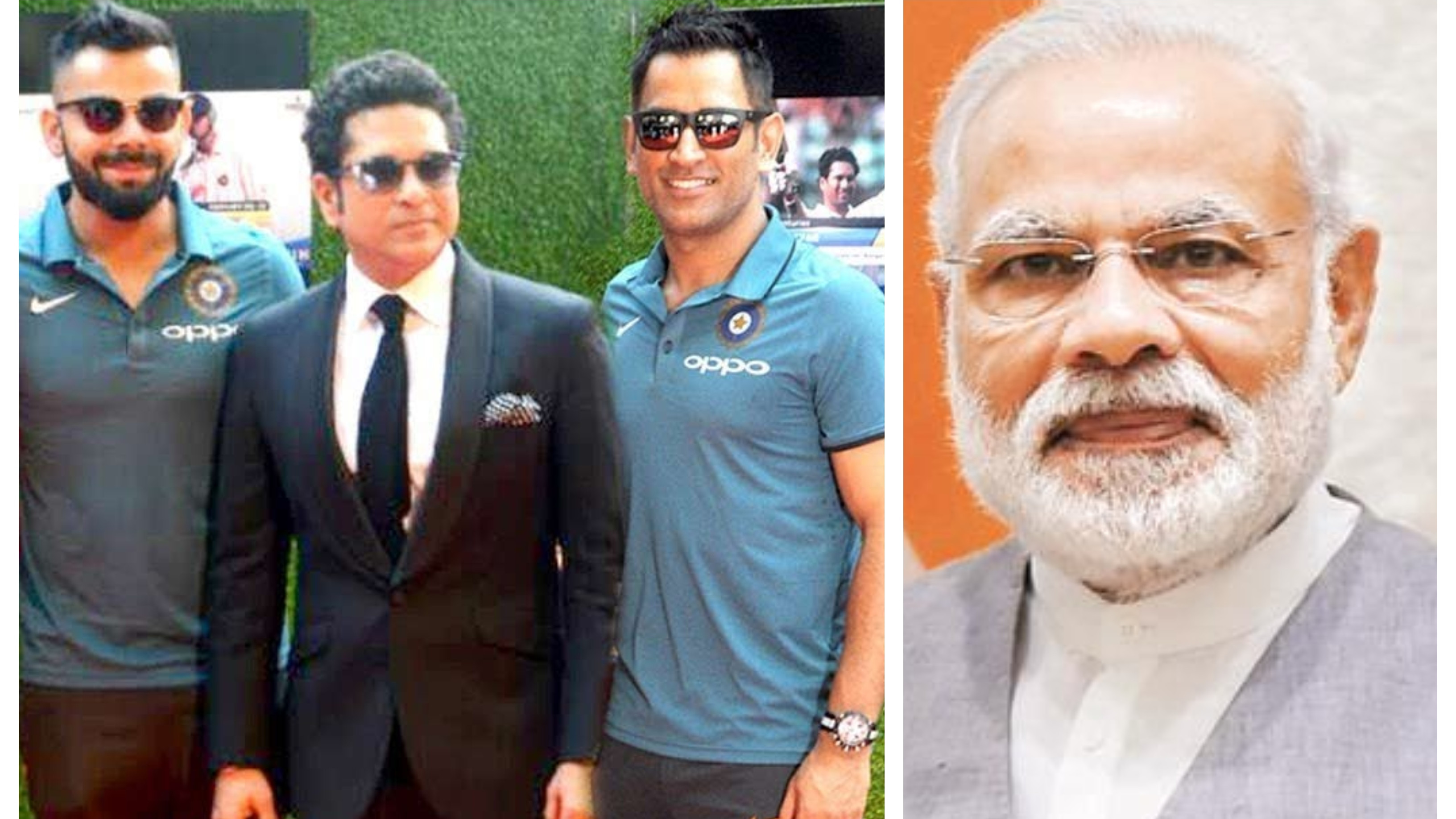 PM Modi urges eminent Indian cricketers to inspire the countrymen to vote in record numbers