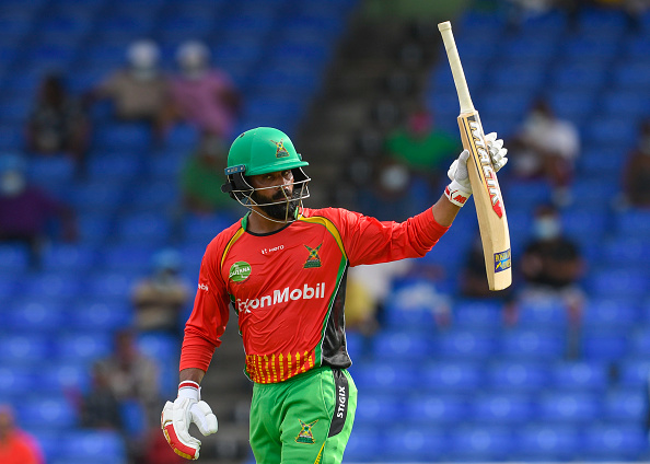 Hafeez is currently playing for Guyana Amazon Warriors in the ongoing CPL 2021 | Getty Images