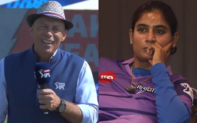 Morrison calling Mithali 'my dear' didn't sit well with some journalists