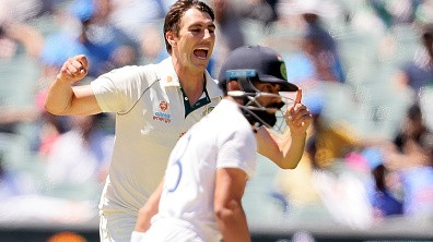 Australian pacers wreaked havoc on the Indian batting line-up | Getty