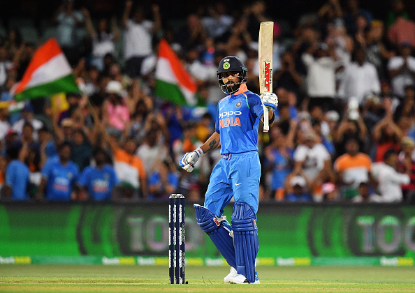 Virat Kohli struck his 39th ODI century | Getty Images