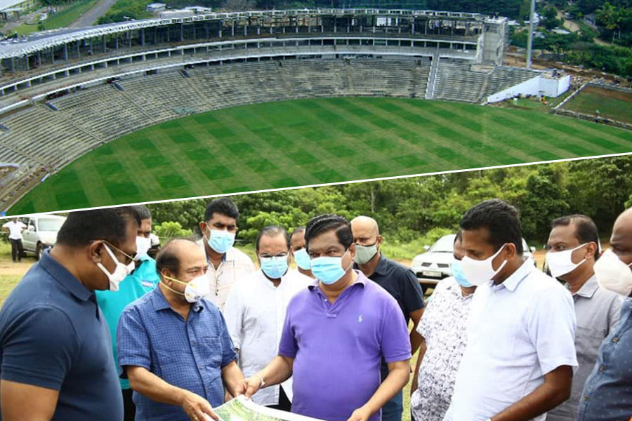 Sri Lanka had recently announced Homagama stadia project | Twitter
