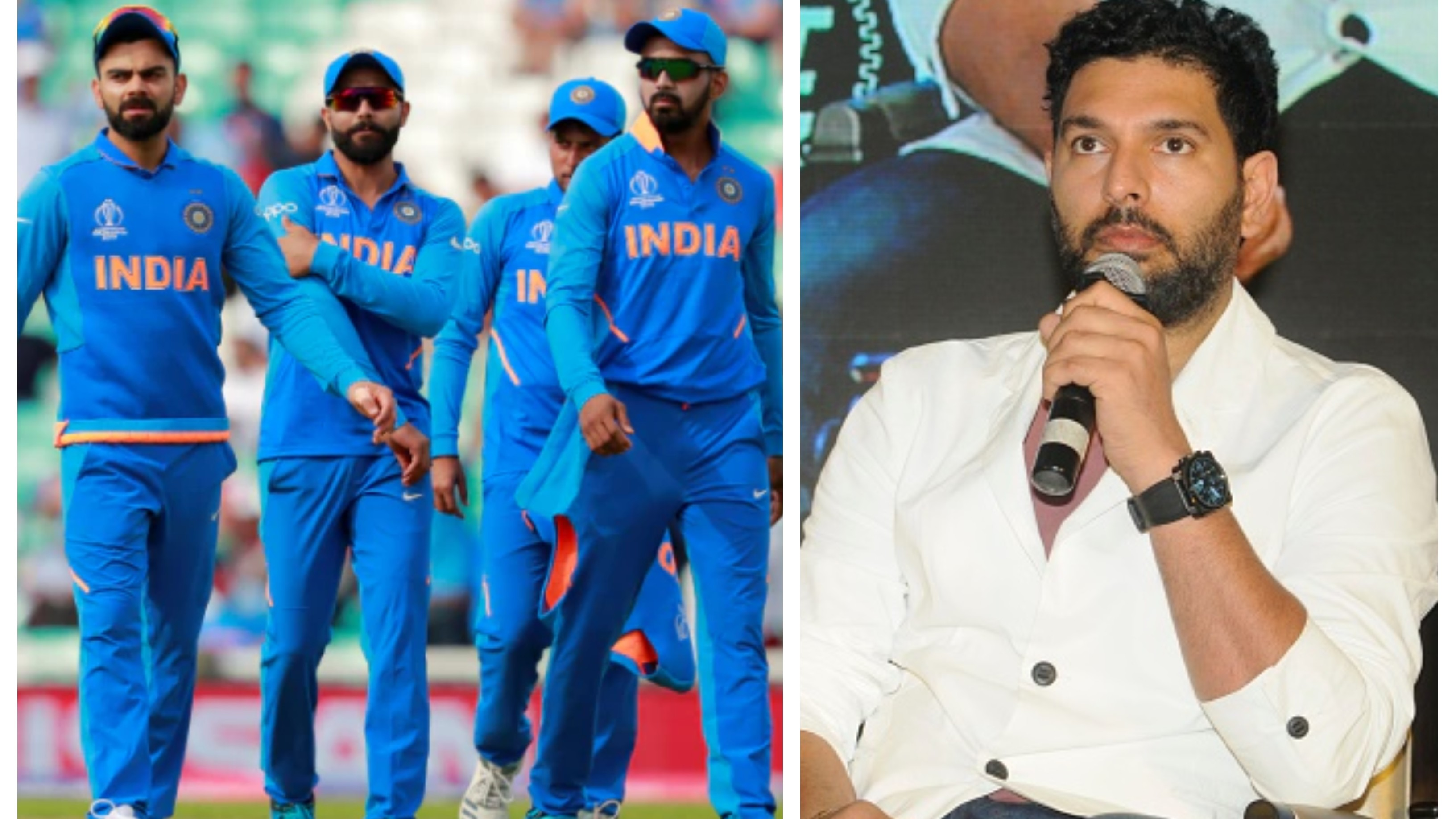 Indian cricketers compelled to play a lot of times as they fear losing their place, claims Yuvraj Singh