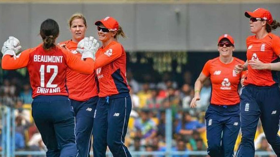 England team clinches T20I series against Indian women 3-0 with a thrilling 1-run win