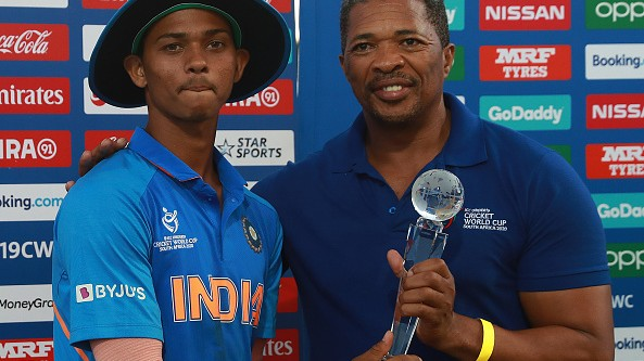 U19CWC 2020: Yashasvi Jaiswal's broken Player of the Tournament trophy gets fixed